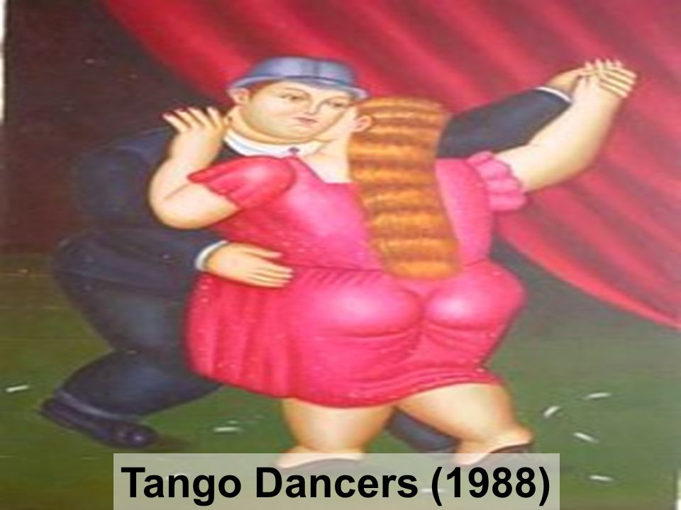 Tango Dancers (1988)