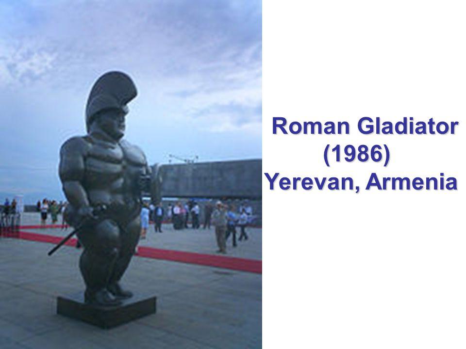 Roman Gladiator (1986) Yerevan, Armenia