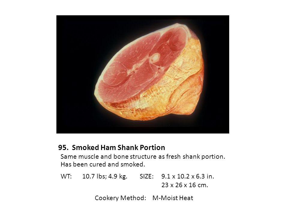 95. Smoked Ham Shank Portion