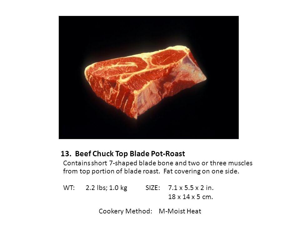 13. Beef Chuck Top Blade Pot-Roast