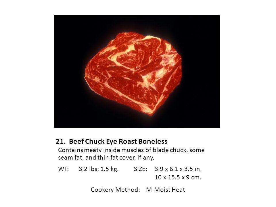 21. Beef Chuck Eye Roast Boneless