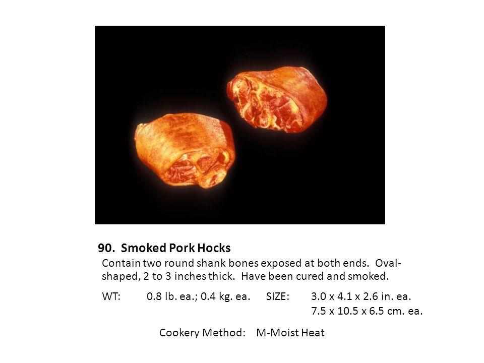 Cookery Method: M-Moist Heat