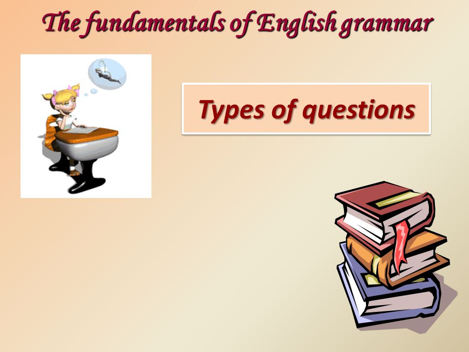 The fundamentals of English grammar