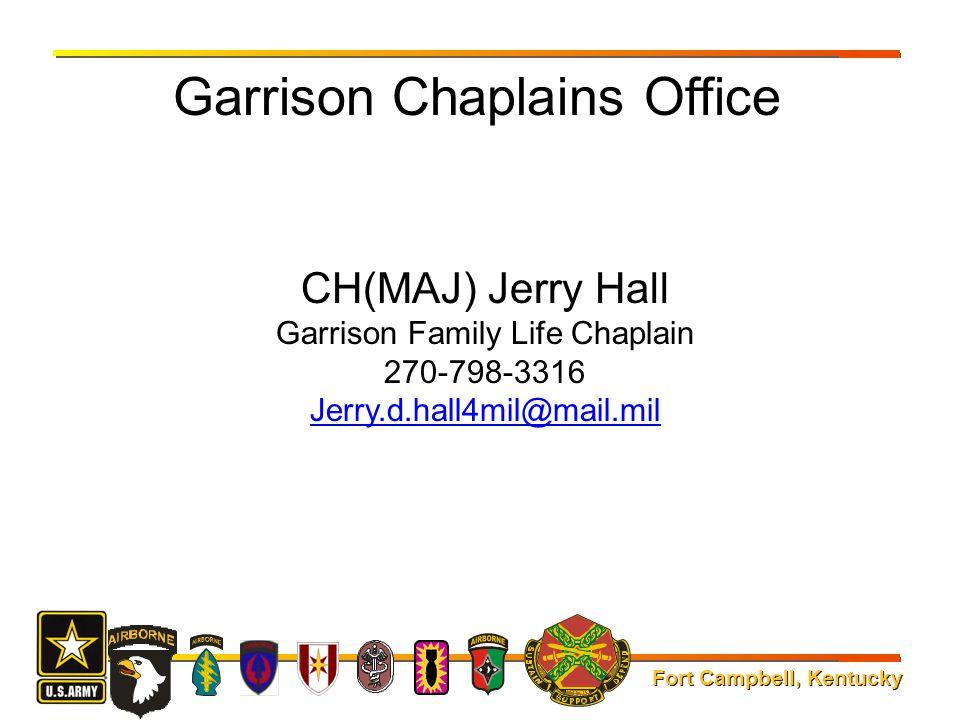 Garrison Chaplains Office