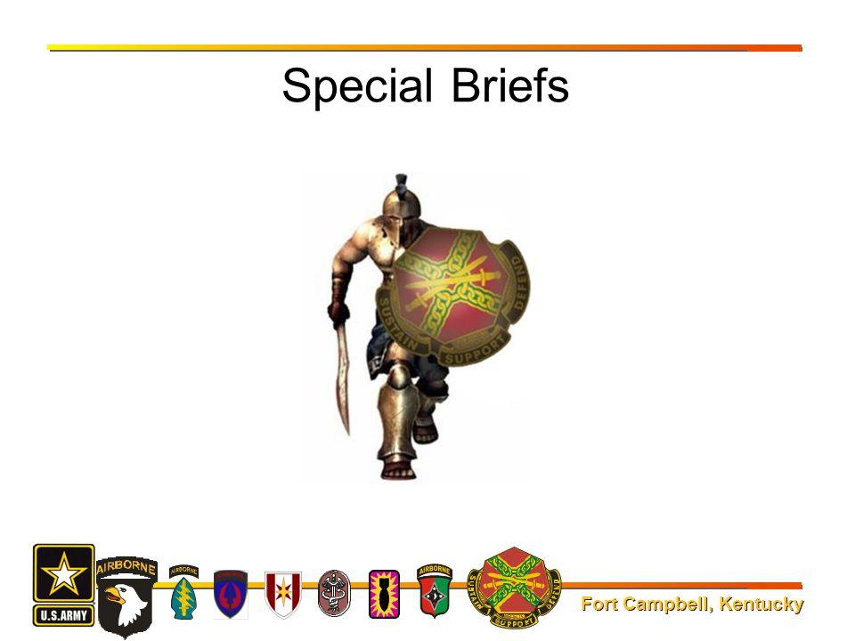Special Briefs