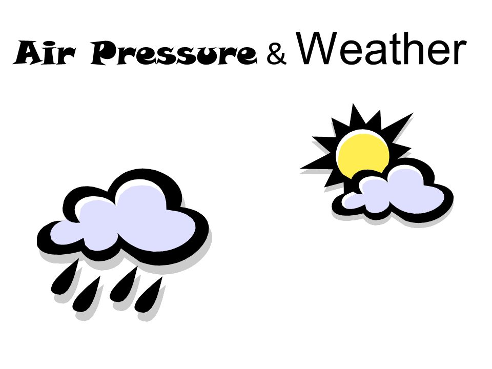 Air Pressure & Weather