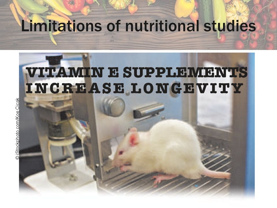 Limitations of nutritional studies