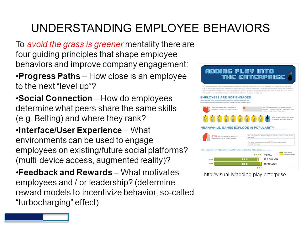 UNDERSTANDING EMPLOYEE BEHAVIORS