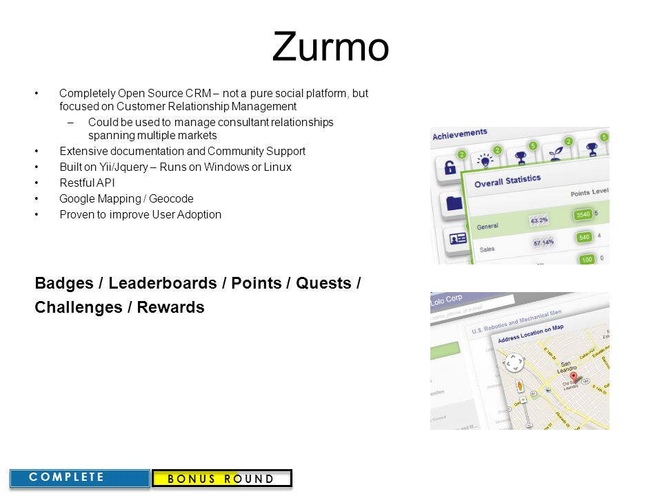 Zurmo Badges / Leaderboards / Points / Quests / Challenges / Rewards