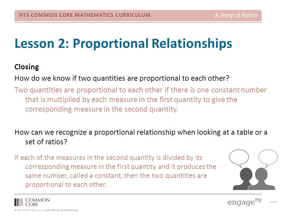 Lesson 2: Proportional Relationships