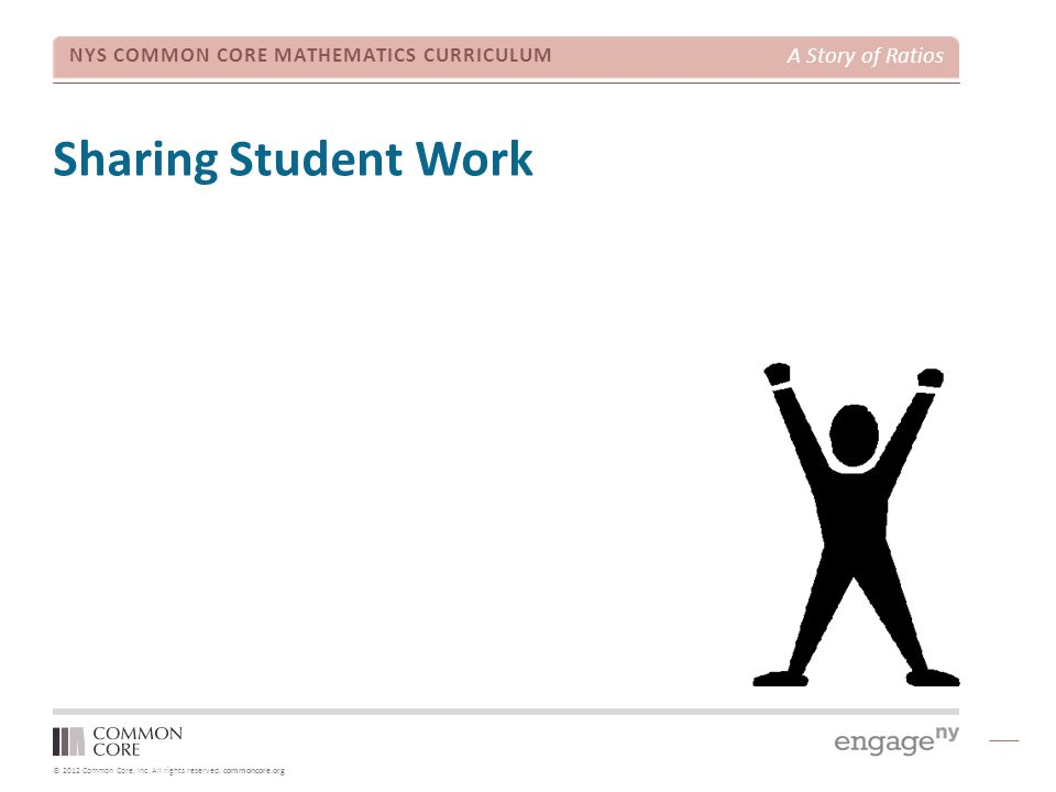 Sharing Student Work TIME ALLOTTED FOR THIS SLIDE: 10 minutes