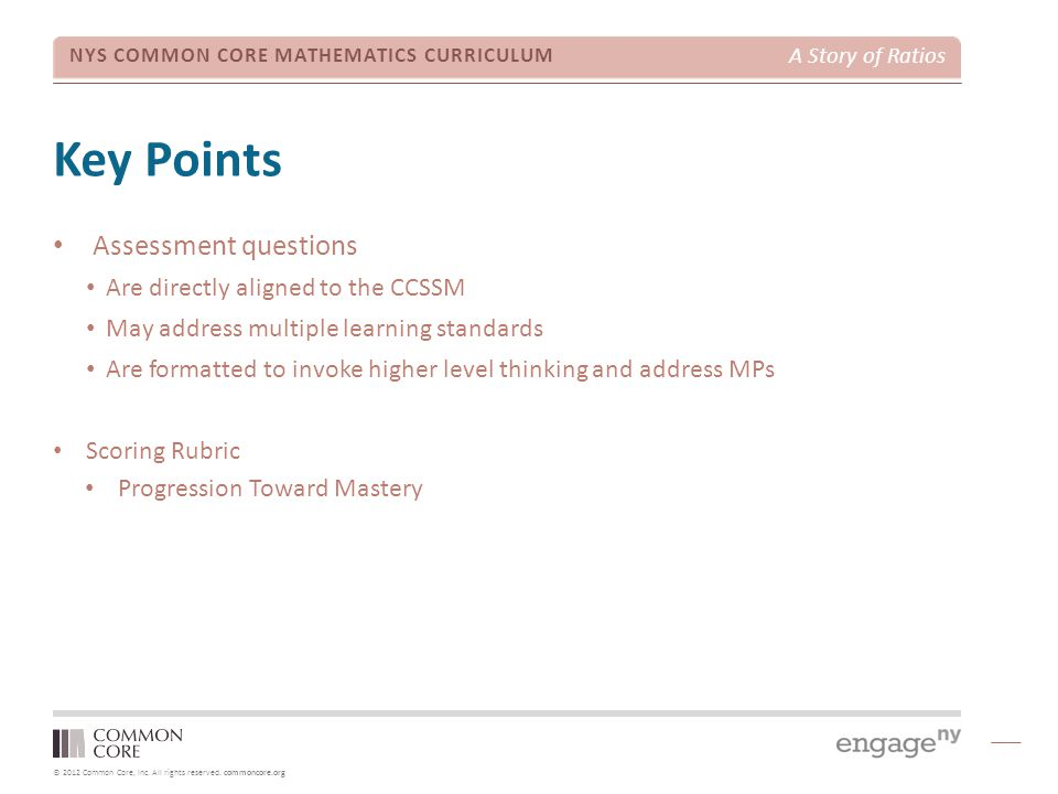 Key Points Assessment questions TIME ALLOTTED FOR THIS SLIDE: