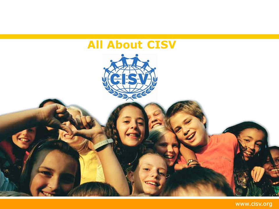 All About CISV