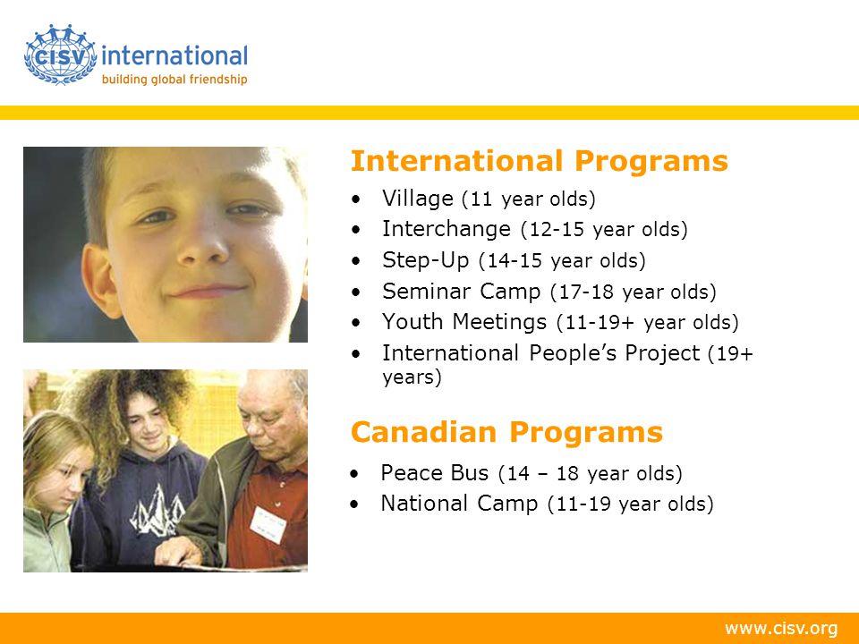 International Programs