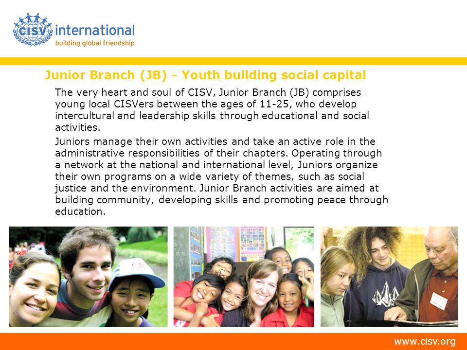Junior Branch (JB) - Youth building social capital