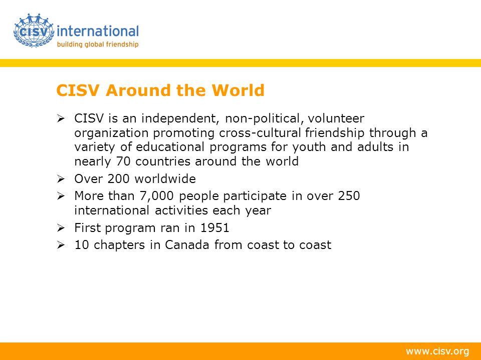CISV Around the World