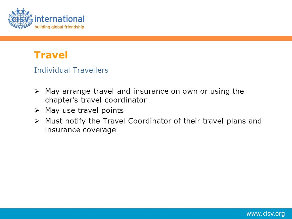 Travel Individual Travellers