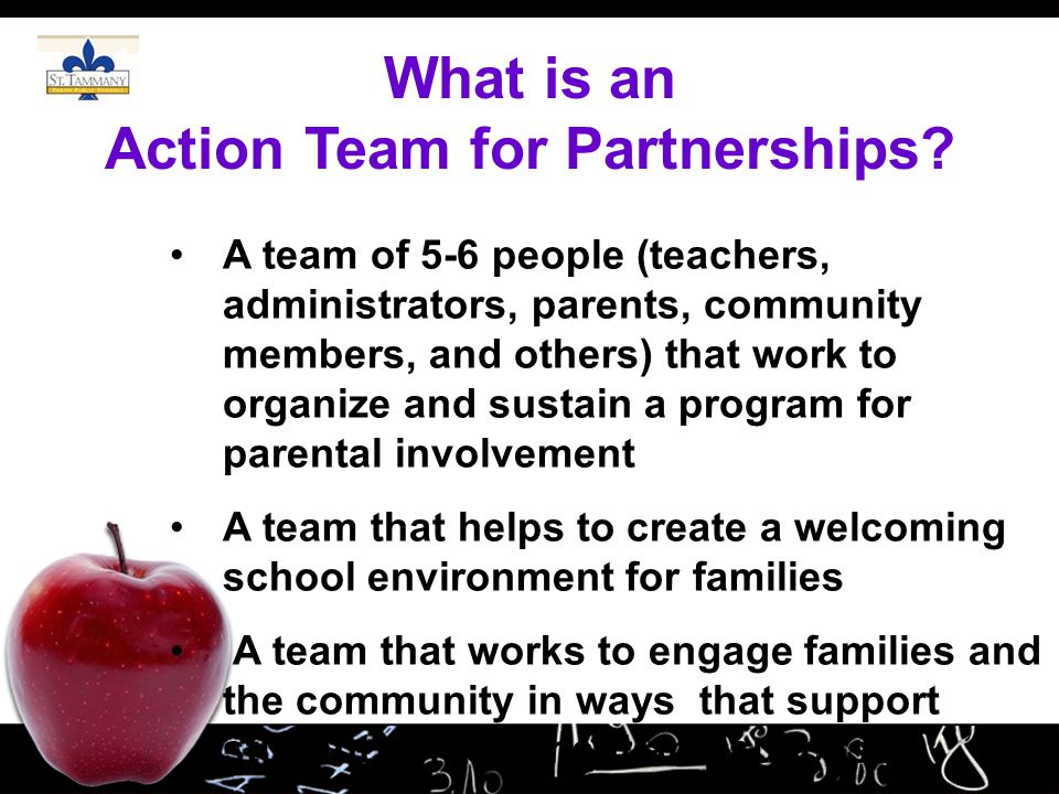 What is an Action Team for Partnerships