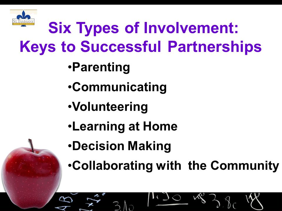 Six Types of Involvement: Keys to Successful Partnerships