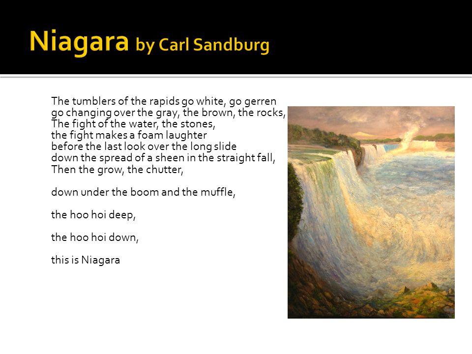 Niagara by Carl Sandburg