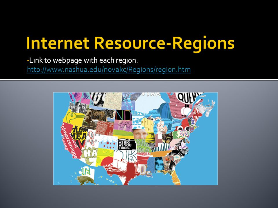 Internet Resource-Regions
