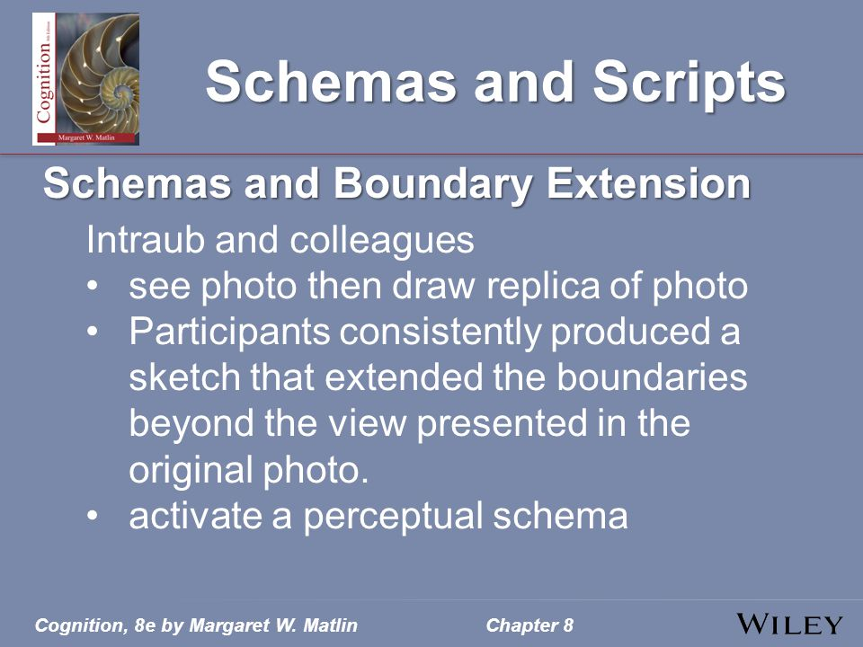 Schemas and Scripts Schemas and Boundary Extension