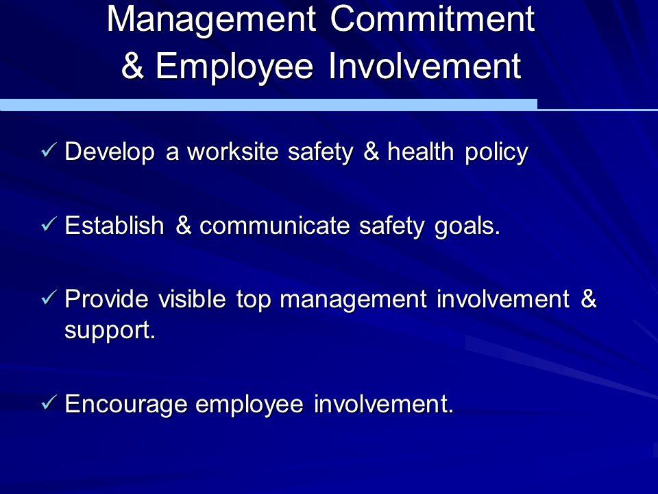Management Commitment & Employee Involvement