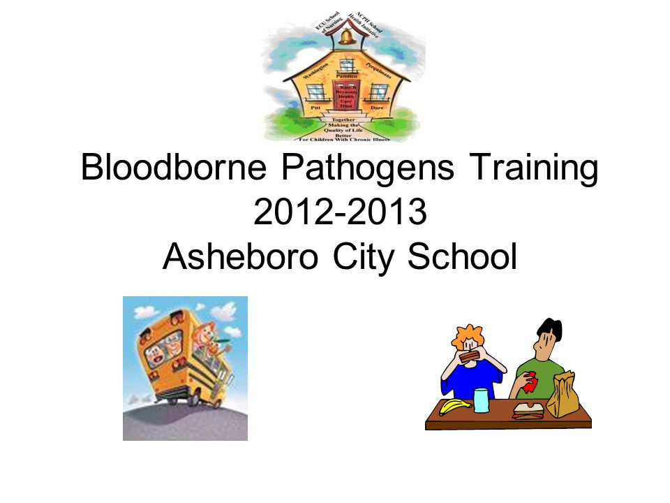 Bloodborne Pathogens Training 2012-2013 Asheboro City School