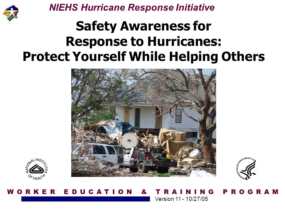 Response to Hurricanes: Protect Yourself While Helping Others