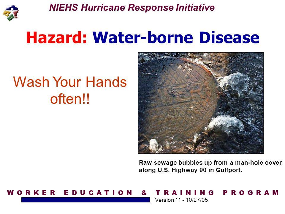 Hazard: Water-borne Disease