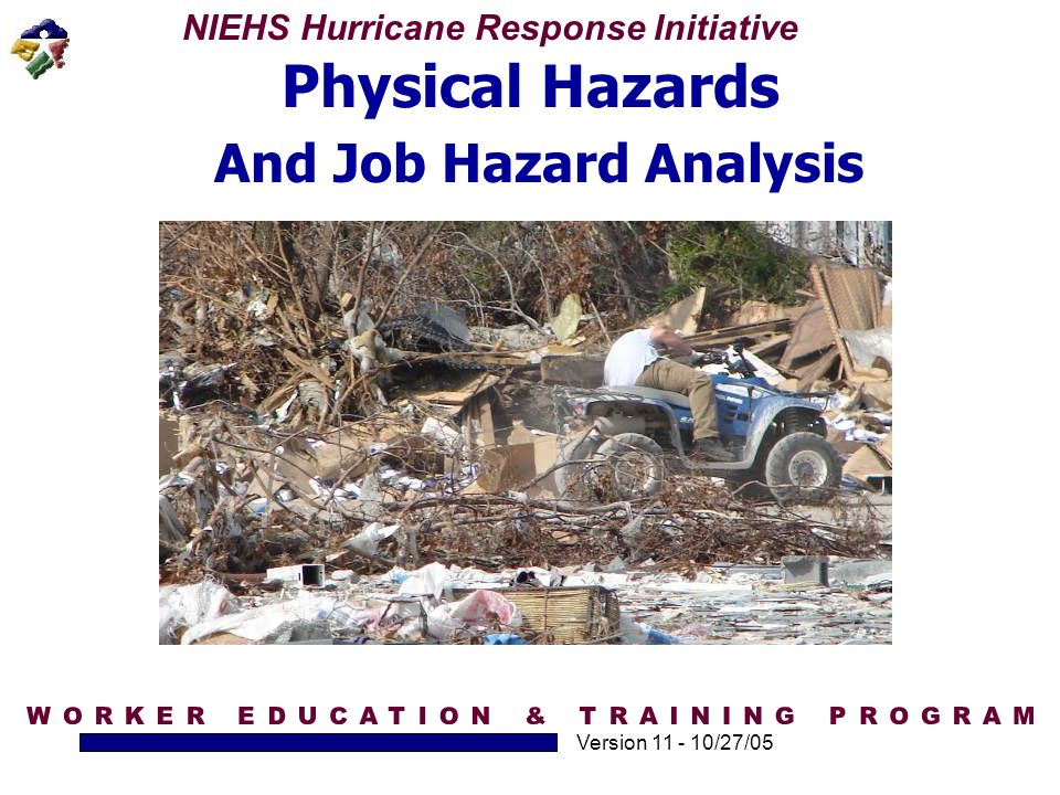And Job Hazard Analysis
