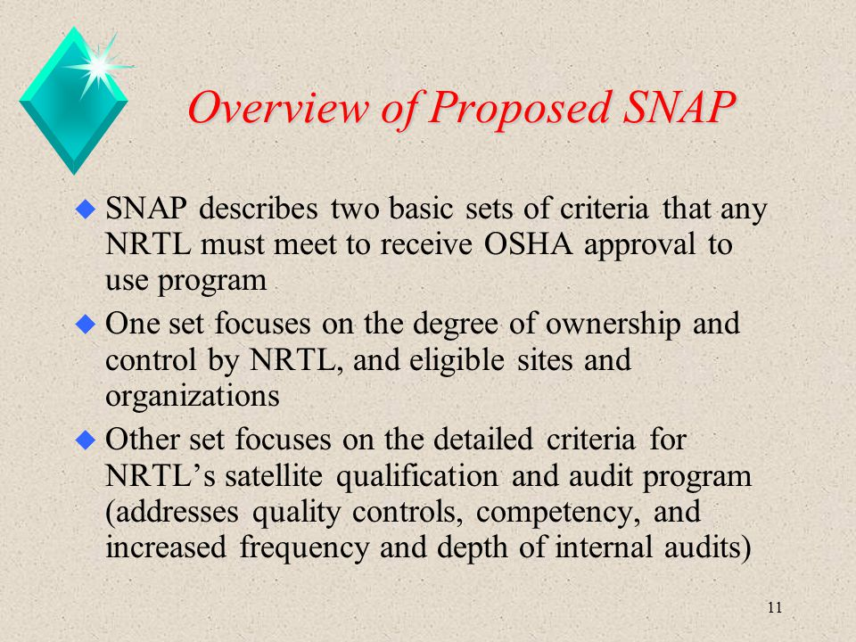 Overview of Proposed SNAP