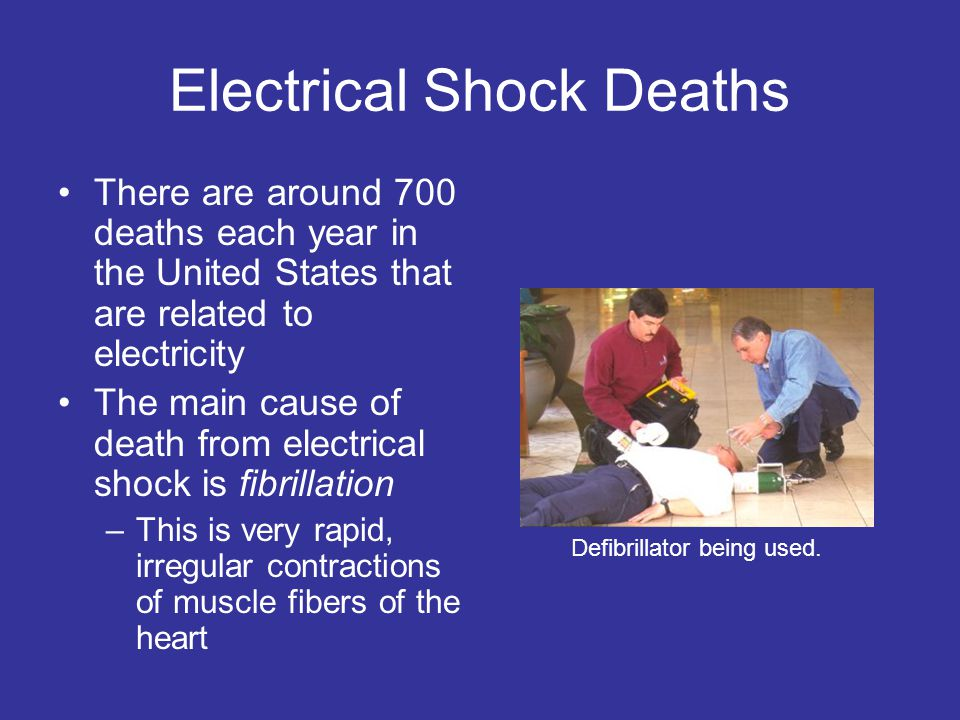 Electrical Shock Deaths