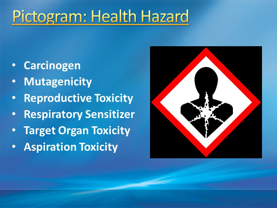 Pictogram: Health Hazard