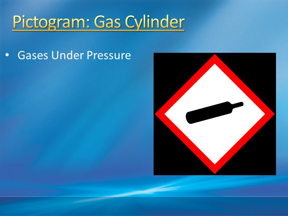 Pictogram: Gas Cylinder