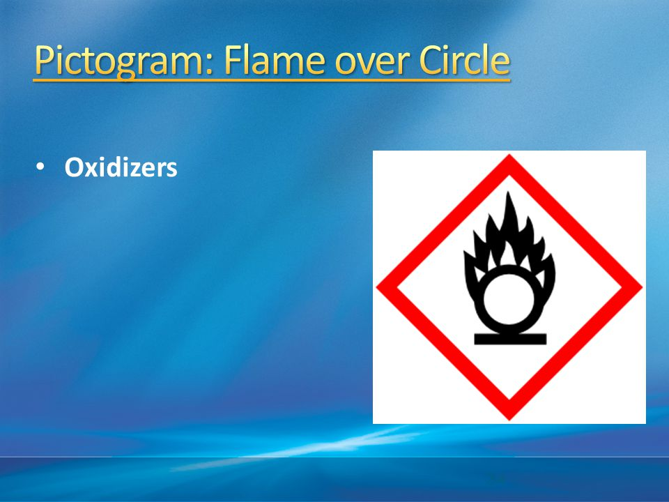 Pictogram: Flame over Circle