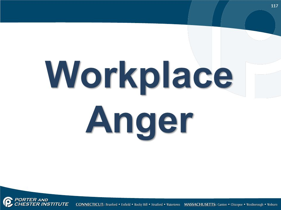 Workplace Anger
