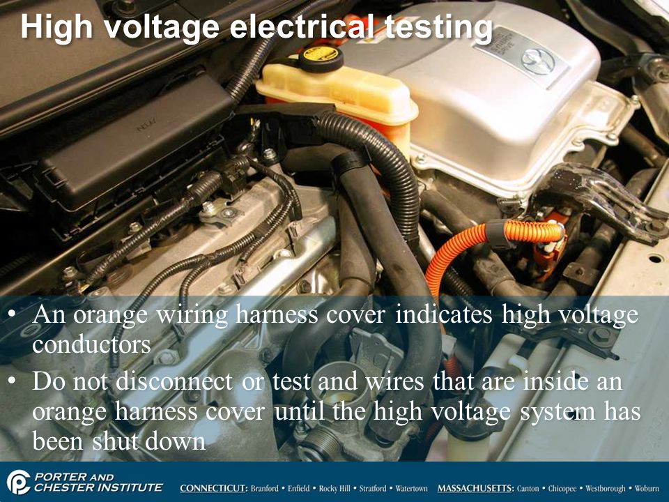 High voltage electrical testing