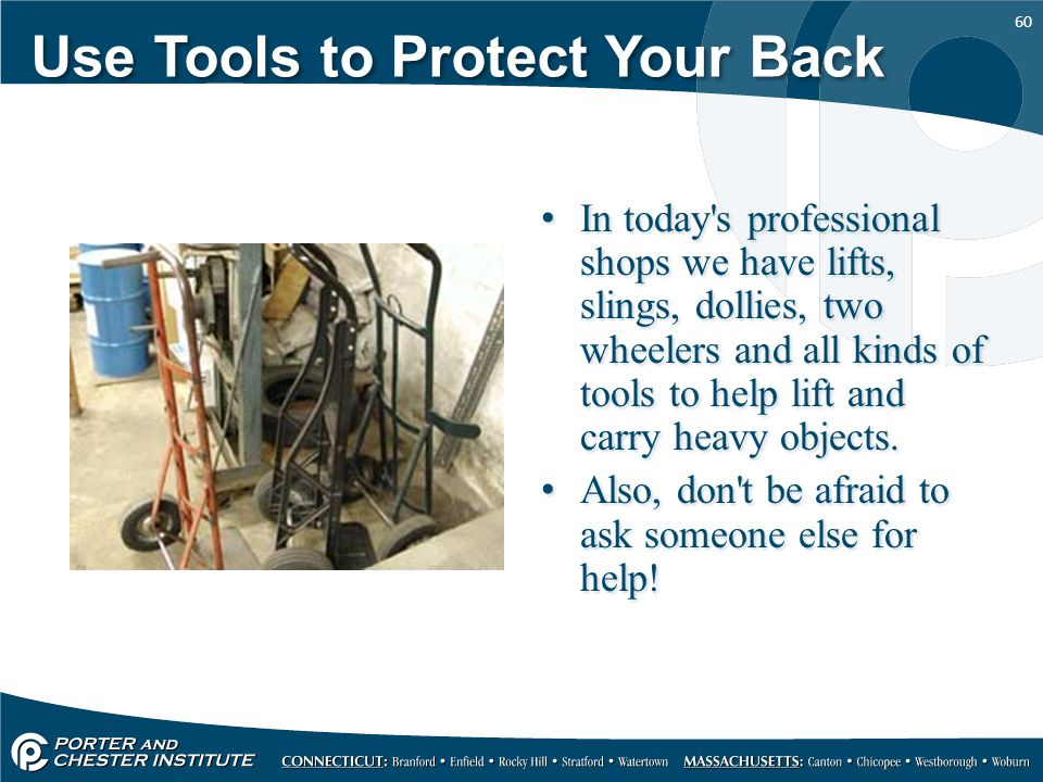 Use Tools to Protect Your Back