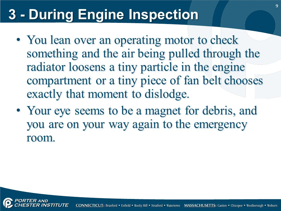 3 - During Engine Inspection