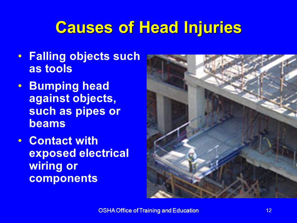 Causes of Head Injuries