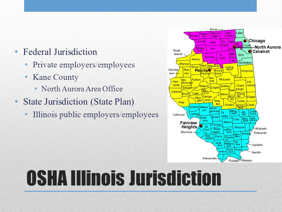OSHA Illinois Jurisdiction