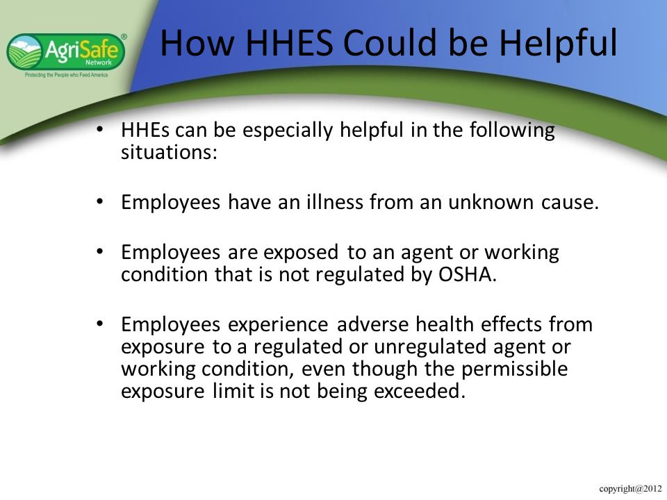 How HHES Could be Helpful
