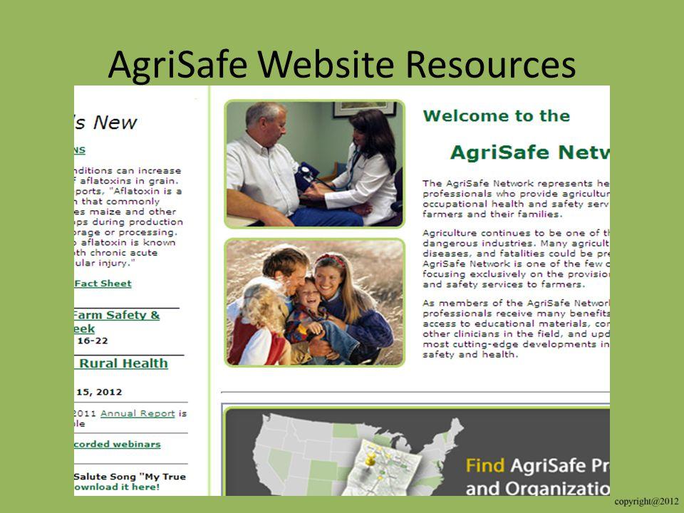 AgriSafe Website Resources