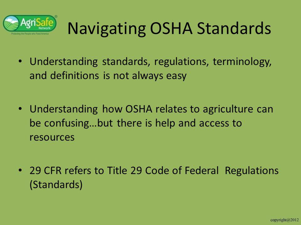 Navigating OSHA Standards