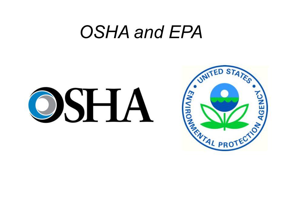 OSHA and EPA Relationship