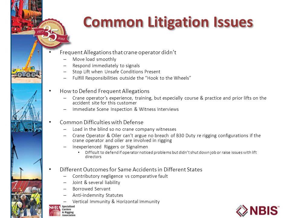 Marvelous 36 Common Litigation Issues