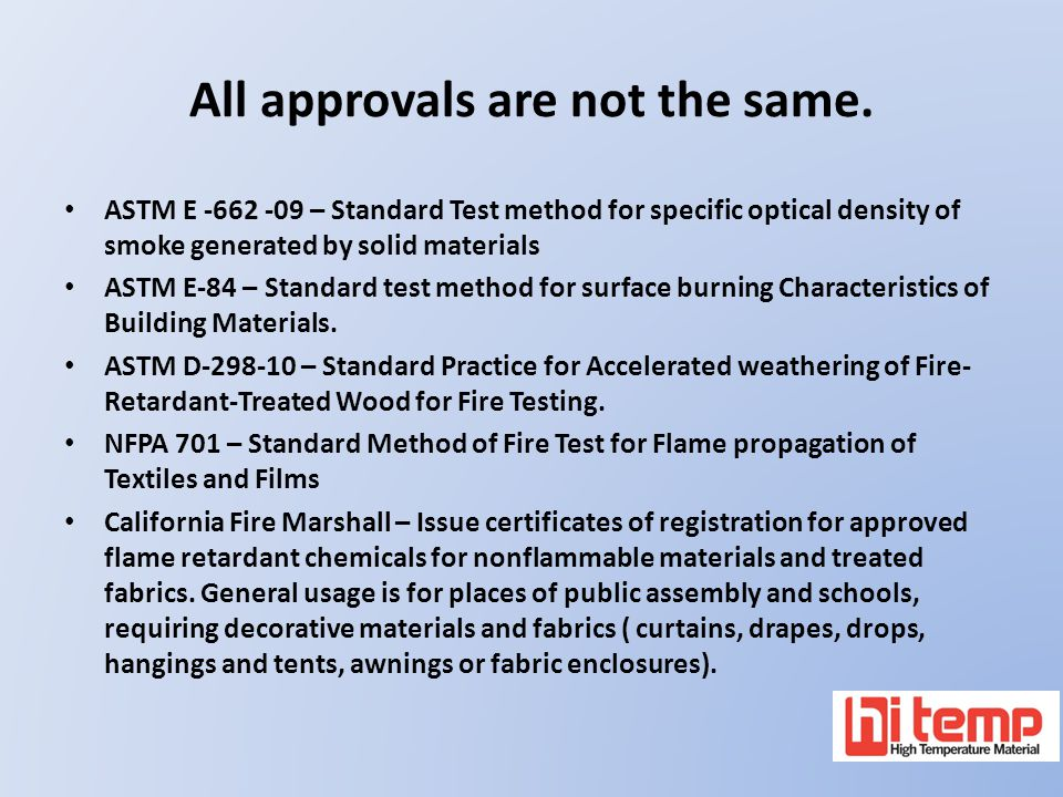 All approvals are not the same.