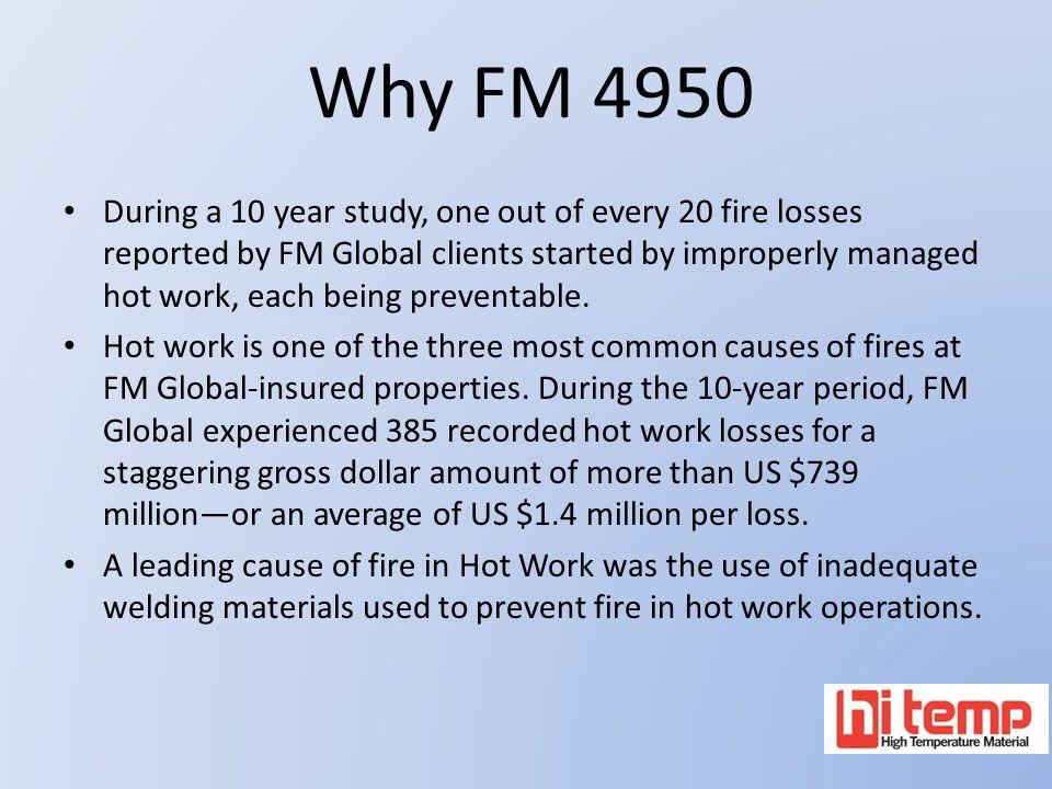 Why FM 4950