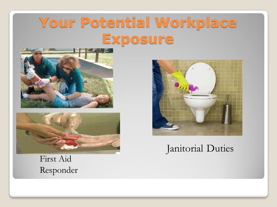 Your Potential Workplace Exposure